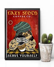 Lazy sloth 11x17 Poster lifestyle-poster-8