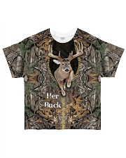 Her Buck And His Doe All-over T-Shirt front