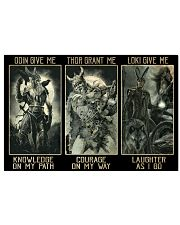 Odin Give Me Knowledge On My Path 17x11 Poster front