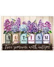 Love Someone With Autism 17x11 Poster front