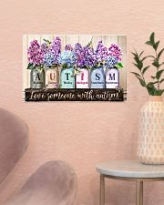 Love Someone With Autism 17x11 Poster poster-landscape-17x11-lifestyle-22