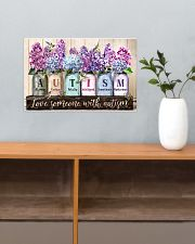 Love Someone With Autism 17x11 Poster poster-landscape-17x11-lifestyle-24