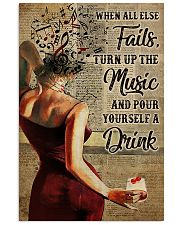 Turn Up The Music 11x17 Poster front