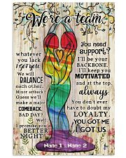 We're A Team Valentine 11x17 Poster front