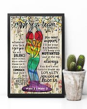 We're A Team Valentine 11x17 Poster lifestyle-poster-8
