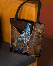 Accept Understand Love Leather Pattern Print All-over Tote aos-all-over-tote-lifestyle-front-02
