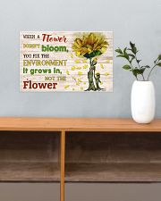 When A Flower Doesn't Bloom 17x11 Poster poster-landscape-17x11-lifestyle-24