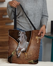 White Horse All-over Tote aos-all-over-tote-lifestyle-front-10