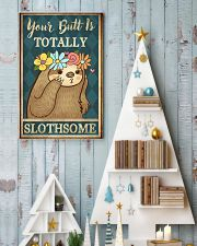 Your Butt Is Totally Slothsome 11x17 Poster lifestyle-holiday-poster-2