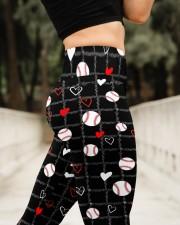 Love Baseball  High Waist Leggings aos-high-waist-leggings-lifestyle-11