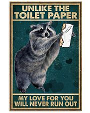Unlike the toilet paper Valentine 11x17 Poster front