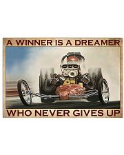 A Winner Is A Dreamer 17x11 Poster front