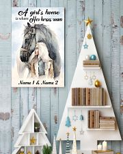 A Girl's Home 11x17 Poster lifestyle-holiday-poster-2