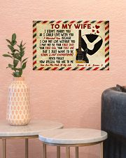 To My Wife 17x11 Poster poster-landscape-17x11-lifestyle-21