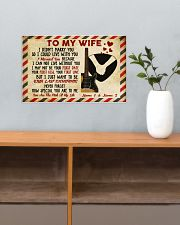 To My Wife 17x11 Poster poster-landscape-17x11-lifestyle-24