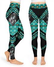 Native Girl High Waist Leggings front