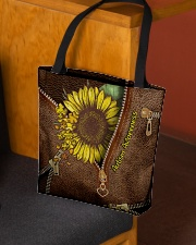 Autism Awareness Leather Pattern Print  All-over Tote aos-all-over-tote-lifestyle-front-02