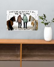 I Want To Hold Your Hand 17x11 Poster poster-landscape-17x11-lifestyle-24