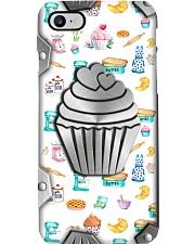 Love Baking Metal Pattern Print  Phone Case i-phone-8-case