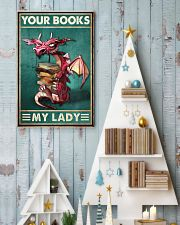 Your Books My Lady 11x17 Poster lifestyle-holiday-poster-2