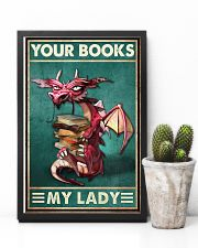 Your Books My Lady 11x17 Poster lifestyle-poster-8