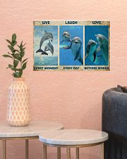 Live Every Moment 17x11 Poster poster-landscape-17x11-lifestyle-21