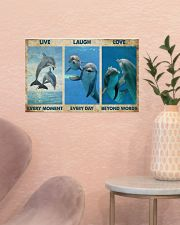 Live Every Moment 17x11 Poster poster-landscape-17x11-lifestyle-22