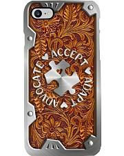 Accept Adapt Advocate Metal Printed  Phone Case i-phone-8-case