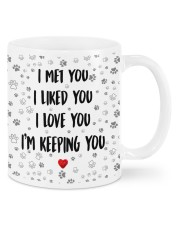 I Met You Mug front