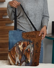 Horse lovers All-over Tote aos-all-over-tote-lifestyle-front-10