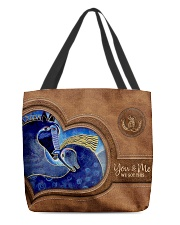 We Got This Valentine Leather Pattern Print All-over Tote front