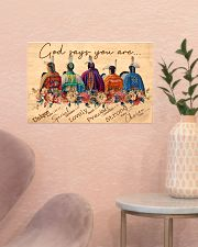 God says you are 17x11 Poster poster-landscape-17x11-lifestyle-22