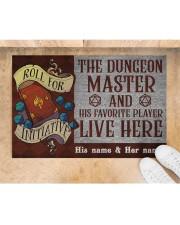 "The dungeons master Doormat 22.5"" x 15""  aos-doormat-22-5x15-lifestyle-front-05"