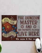 "The dungeons master Doormat 22.5"" x 15""  aos-doormat-22-5x15-lifestyle-front-06"