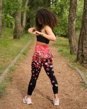 Autism Awareness Valentine High Waist Leggings aos-high-waist-leggings-lifestyle-17