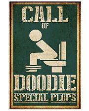 Call of doodies 11x17 Poster front