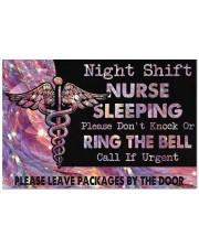"A Night Shift Nurse  Doormat 22.5"" x 15""  front"