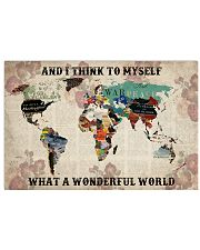 What A Wonderful World 17x11 Poster front