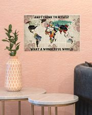 What A Wonderful World 17x11 Poster poster-landscape-17x11-lifestyle-21