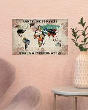 What A Wonderful World 17x11 Poster poster-landscape-17x11-lifestyle-22