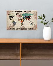 What A Wonderful World 17x11 Poster poster-landscape-17x11-lifestyle-24