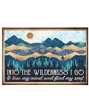 Into The Wilderness 17x11 Poster front