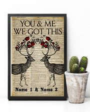 You And Me We Got This 11x17 Poster lifestyle-poster-8