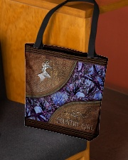 Country Girl Leather Pattern Print  All-over Tote aos-all-over-tote-lifestyle-front-02