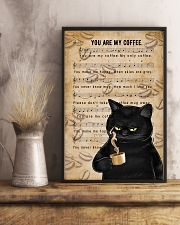 You Are My Coffee 11x17 Poster lifestyle-poster-3