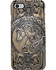 Love Horse Metal Pattern Print  Phone Case i-phone-8-case