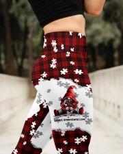 Autism Awareness High Waist Leggings aos-high-waist-leggings-lifestyle-11