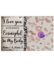 I Love You With Every Eosinophil Personalize 17x11 Poster front