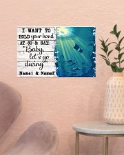 I Want To Hold Your Hand At 80 17x11 Poster poster-landscape-17x11-lifestyle-22