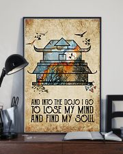 And Into The Dojo 11x17 Poster lifestyle-poster-2